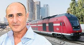 שחר איילון רכבת, צילום: דוברות רכבת ישראל