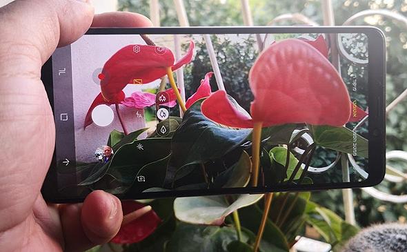 סמסונג גלקסי A9 סמארטפון מובייל, צילום: רפאל קאהאן
