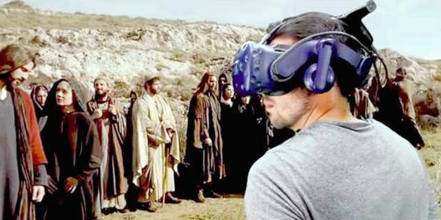 עזרה משמיים: HTC תפתח מוצרי VR במיוחד למטיפים נוצרים