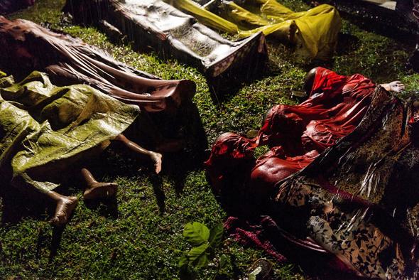 ניסיון הבריחה של פליטי הרוהינגיה
