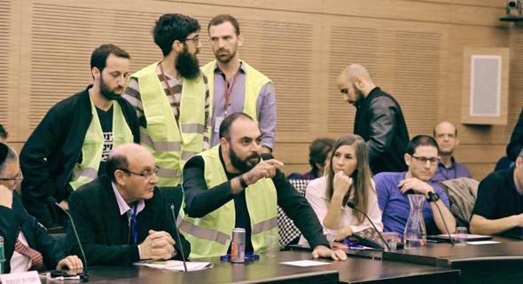 הדיון בוועדת הכלכלה, היום, צילום: יצחק הררי דוברות הכנסת