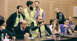 הדיון בוועדת הכלכלה, צילום: יצחק הררי דוברות הכנסת