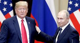 ולדימיר פוטין ודונלד טראמפ, צילום: אם סי טי