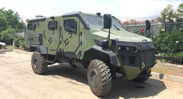 כלי רכב ממוגן של חברת Gaia Automative Industries שיימכר למשטרת הפיליפינים