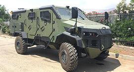 כלי רכב ממוגן של חברת Gaia Automative Industries שיימכר למשטרת הפיליפינים, צילום: Gaia Automative Industries