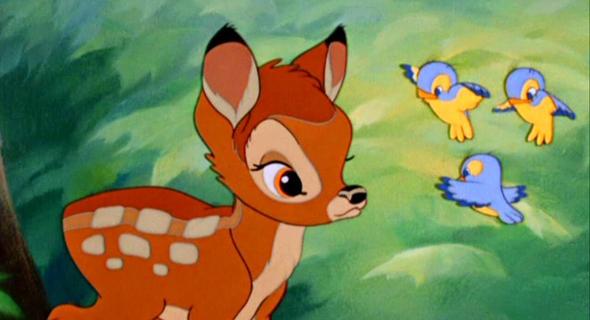 סרט במבי דיסני, צילום: Disney