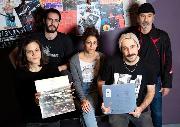 נציגי להקות שמשתתפות בפרוייקט אוסף חיפה