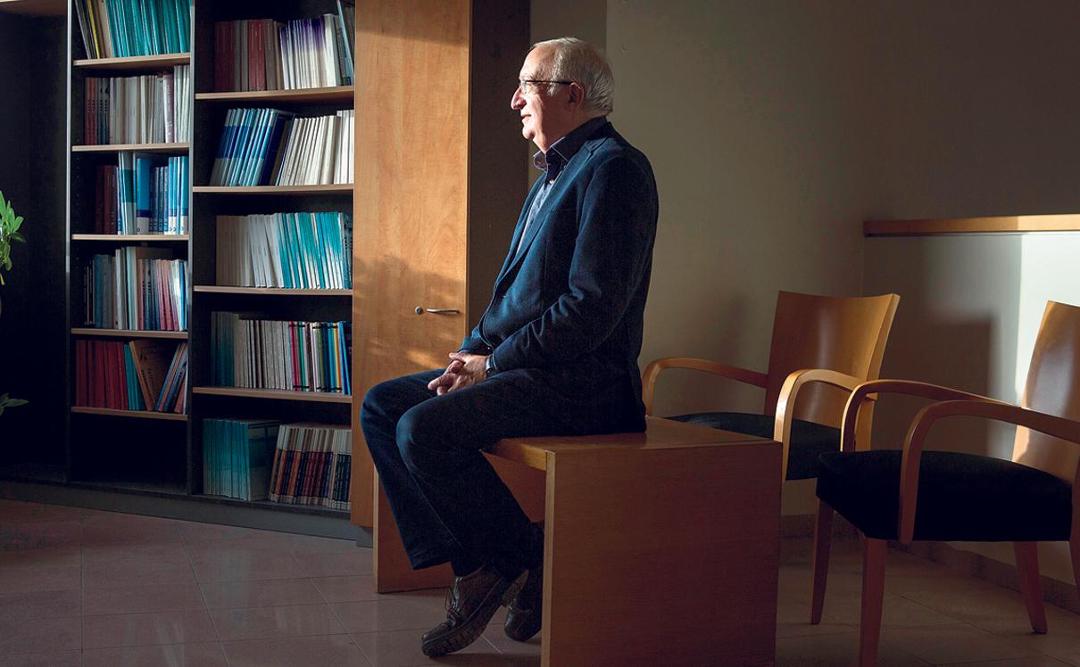 מוסף 20.11.18 תקציר מנהלים פרופ' מנואל טרכטנברג, צילום: תומי הרפז