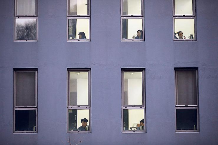 מתקן Prison Inside Me מבחוץ. 28 תאים שבהם התארחו עד כה כ־2,000 אנשים, צילום: רויטרס