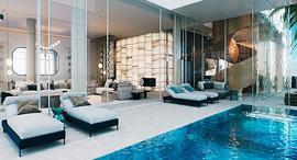 """פנטהאוז בריגה טאוורס זירת הנדל""""ן, הדמיה: תהילה שלף אדריכלית, הדמיות D3"""