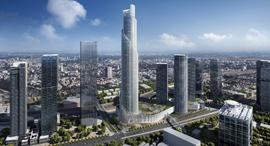המגדל הרביעי של מרכז עזריאלי בתל אביב - מגדל הספירלה, הדמיה: KPF