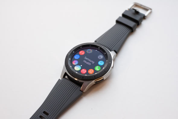 Samsung's Galaxy Watch. Photo: Shutterstock