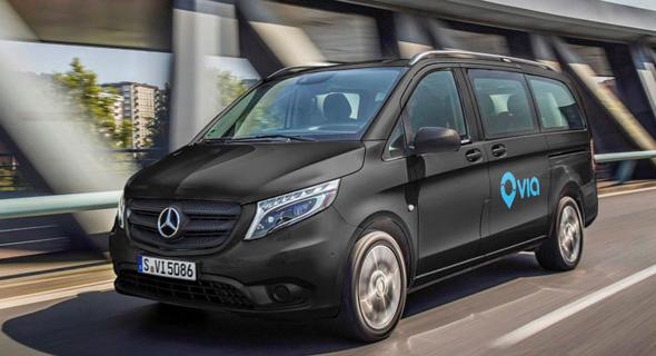 רכב של ויה, צילום: Daimler AG