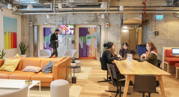 WeWork in Jerusalem. Photo: Eyal Marilus