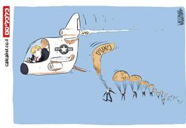 קריקטורה 23.12.18, איור: יונתן וקסמן