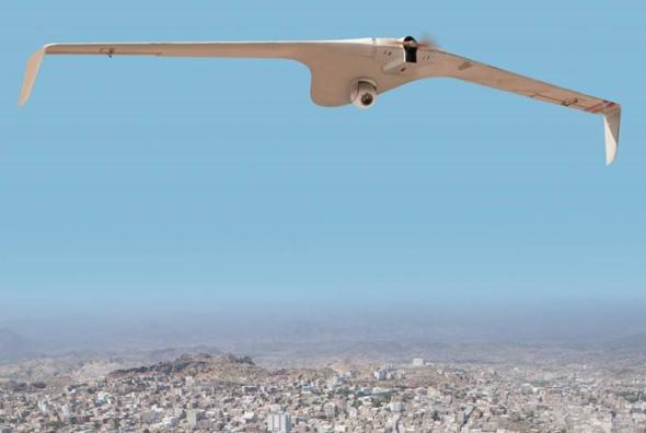 מטוס ללא טייס Bird Eye 650D, צילום: התעשייה האווירית