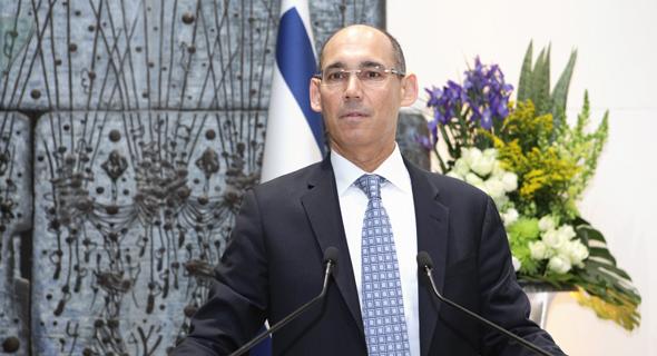 נגיד בנק ישראל, אמיר ירון. קצב הצמיחה צפוי להתמתן