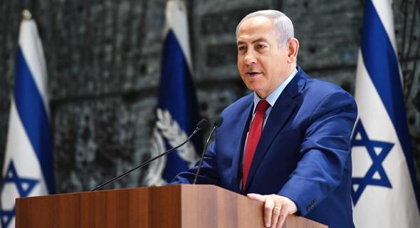 ראש הממשלה בנימין נתניהו טקס השבעת נגיד בנק ישראל, צילום: קובי גדעון/ לע״מ