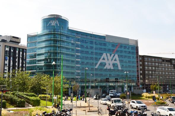AXA's offices in Milan. Photo: Shutterstock