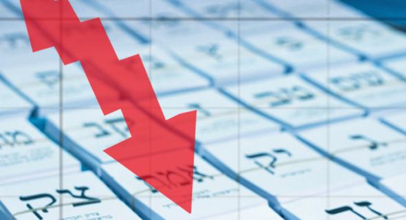השפעת הבחירות על הבורסה (אילוסטרציה)