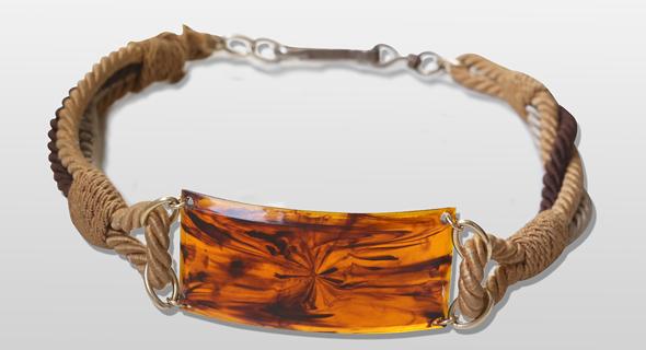 חגורה שיוצרה בשנות השבעים עבור איב סאן לורן