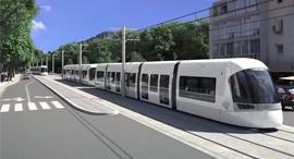 """רכבת קלה קו סגול נת""""ע, צילום: יוטיוב"""