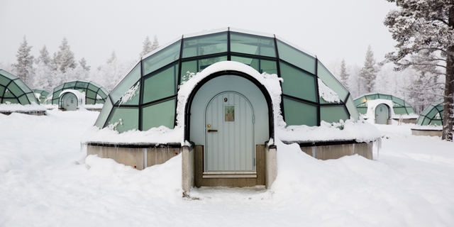 הקור כלול: מלונות קרח מרשימים ברחבי העולם