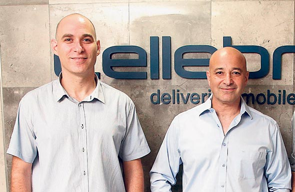 Cellebrite co-CEO Yossi Carmil (right). Photo: Yariv Katz
