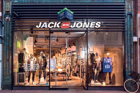 סניף של Jack&Jones בהולנד