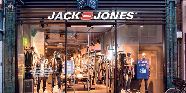 סניף של Jack&Jones בהולנד, צילום: שאטרסטוק