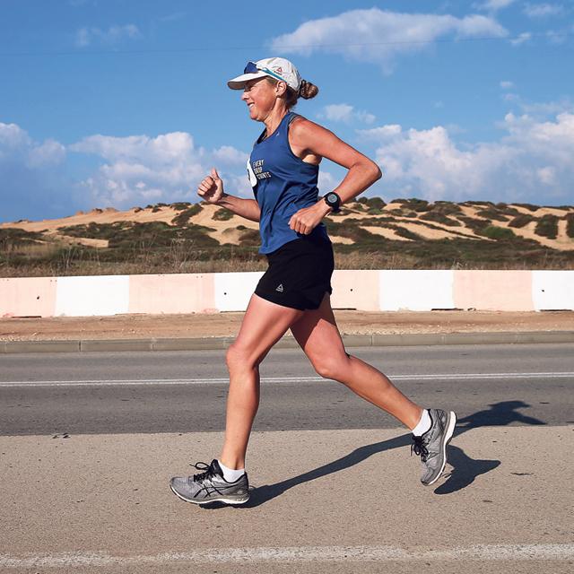 מוסף שבועי 27.11.18 100 ימים מינה גולי ריצה, צילום: אוראל כהן