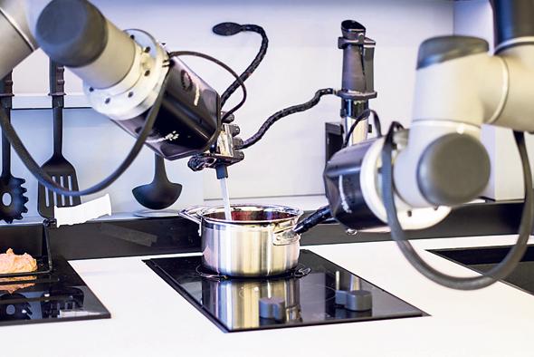 רובוט-שף של חברת , צילום: אתר החברה