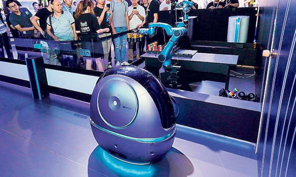 שירות חדרים רובוטי, בגרסת עליבאבא, צילום: אתר החברה