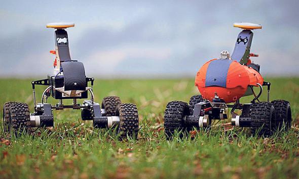 רובוטים חקלאיים, צילום: אתר החברה