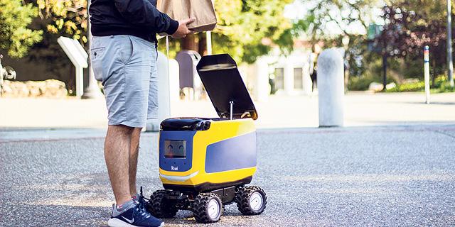 השליח כבר לא מחכה לטיפ: הכירו את הרובוטים שמתקרבים לשוק העבודה