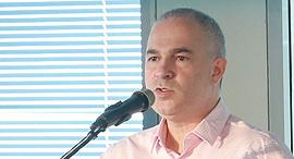 """מנכ""""ל בזק דודו מזרחי, צילום: אוראל כהן"""