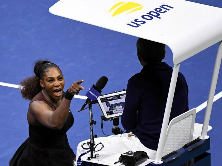 """סרינה נגד השופט. """"רק בגלל שאני אשה"""", צילום: רויטרס"""