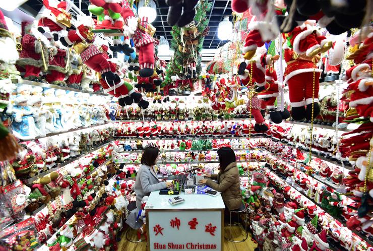 חנות בבייג'ינג - כל מה שצריך לכריסמס