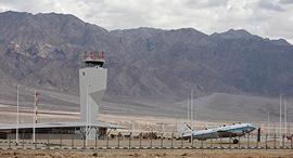 נמל התעופה רמון, צילום: אי פי איי