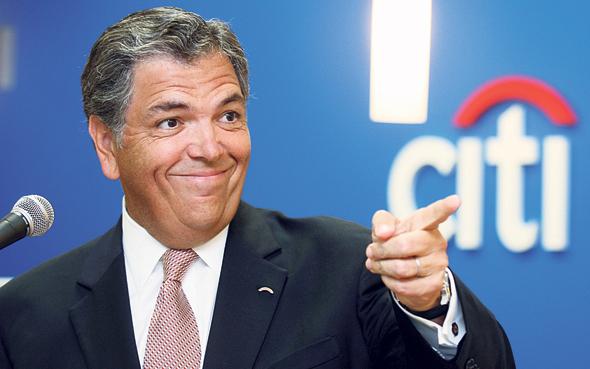 """מנכ""""ל סיטי־בנק במשבר 2008 צ"""
