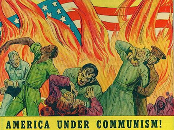 תעמולה אנטי-סובייטית משנות החמישים, צילום: archive.org PDM1