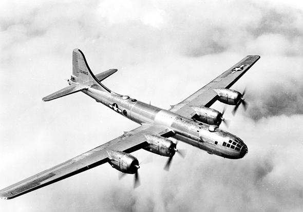 מפציץ ה-B29 סופרפורטרס, המתקדם בעולם בזמנו, צילום: (USAF (wikimedia