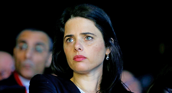 United Right Chairwoman Ayelet Shaked. Photo: Amit Sha'al