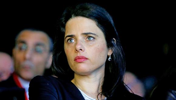 איילת שקד, צילום: עמית שעל
