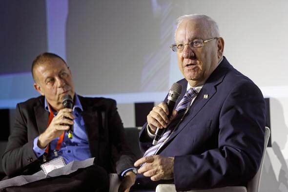 נשיא המדינה ראובן רובי ריבלין בוועידת התחזיות