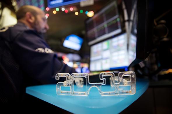 מסחר בבורסת וול סטריט ביום האחרון של 2018, צילום: בלומברג