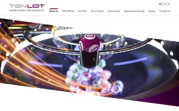אתר האינטרנט של טנלוט, צילום מסך