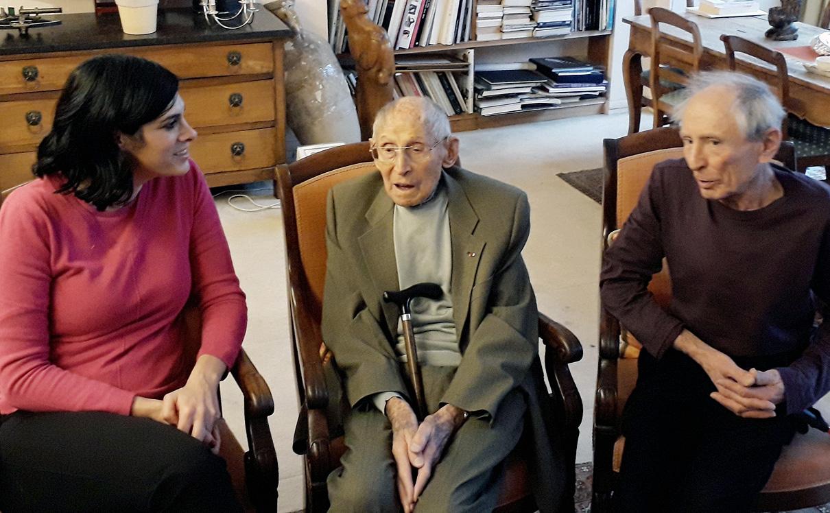 מימין: דניאל לואנזה, זורז לואנזה ומאיה גז כתבת כלכליסט, צילום: ערן גז