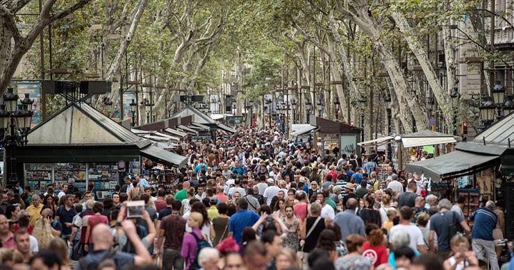שדרות רמבלה, ברצלונה, צילום: גטי אימג