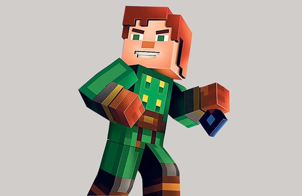 """Minecraft: Story Mode"". ז"
